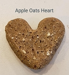Apple Oats Heart